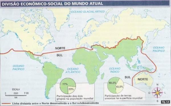 mapa-mundo-norte-sul